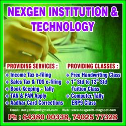 nexgen institution & technology