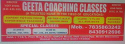 Geeta Coaching Classes