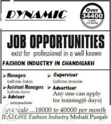 Dynamic fashion industry